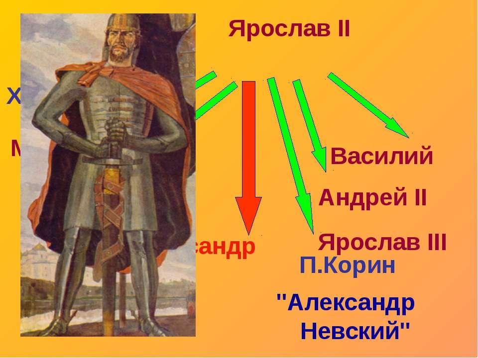 "Г.Семирадский ""Александр Невский в Орде"" 3. Александр Невский в Орде"
