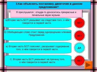 3.Как объяснить постановку двоеточия в данном предложении? а)Вторая часть БСП...
