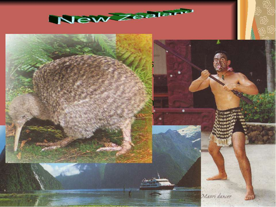 """New Zealanders, who are also known as """"Kiwis"""", are relaxed people who love th..."""