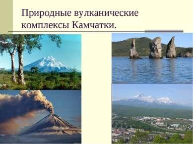 Природные вулканические комплексы Камчатки.