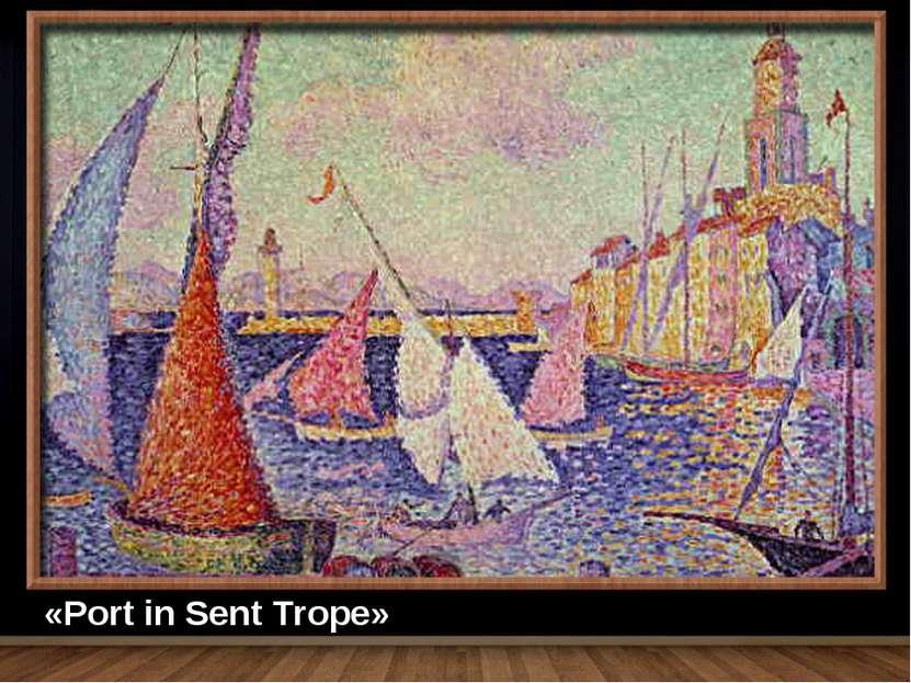 «Port in Sent Trope»
