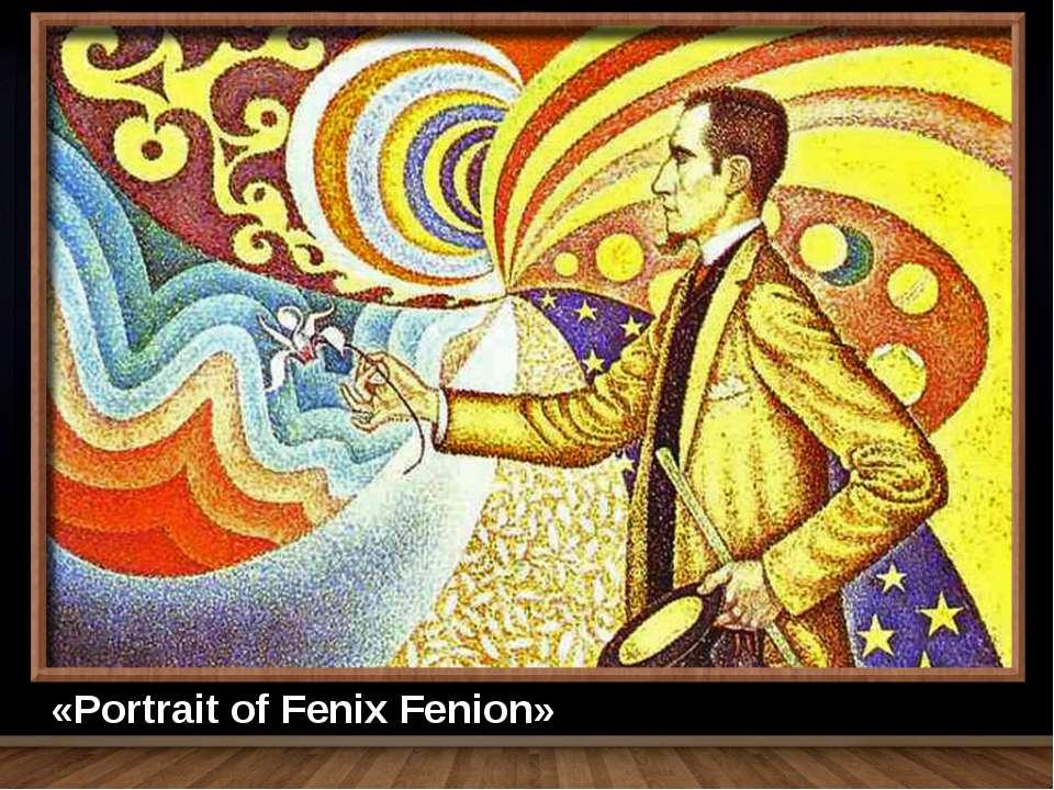 «Portrait of Fenix Fenion»