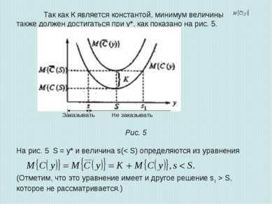 Так как К является константой, минимум величины также должен достигаться при ...