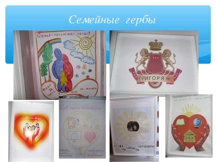Семейные гербы
