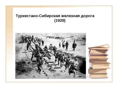 Туркестано-Сибирская железная дорога (1929)