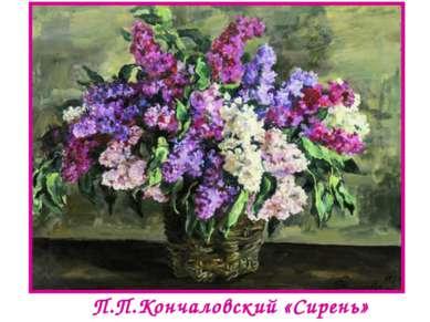 П.П.Кончаловский «Сирень»