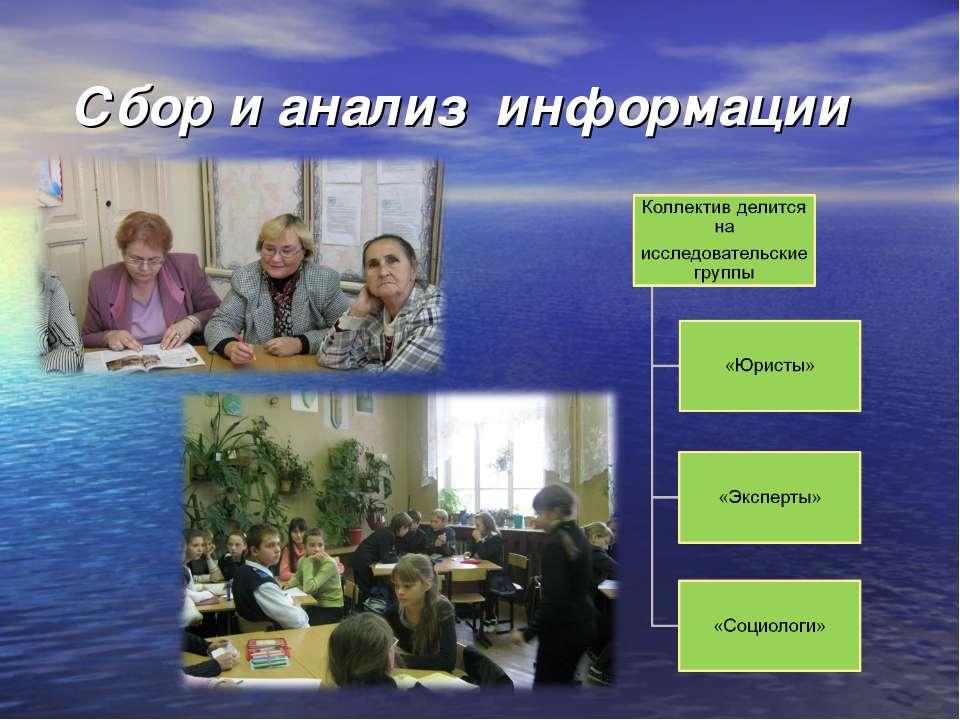 Сбор и анализ информации