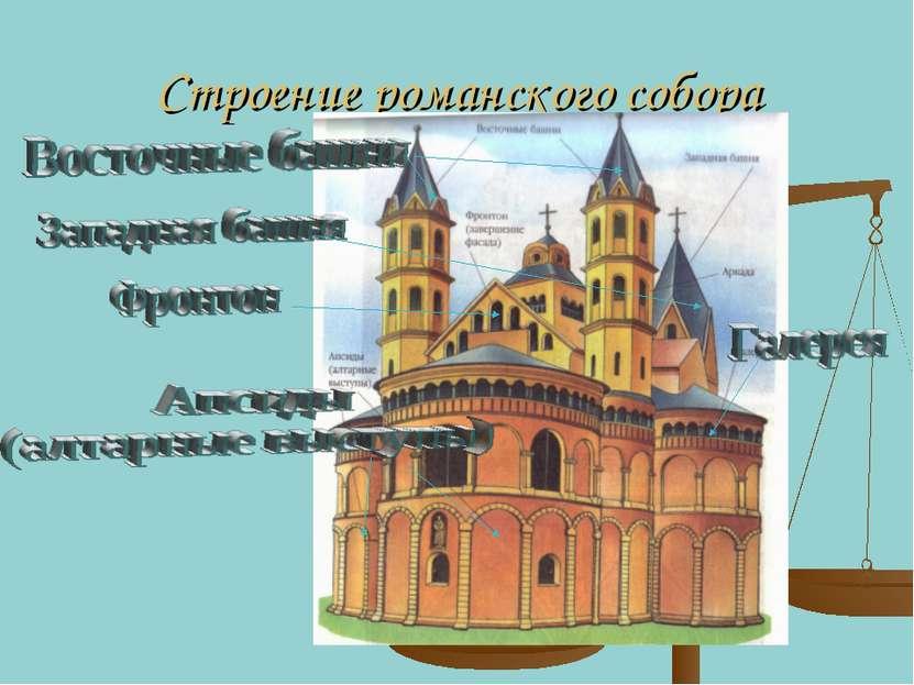 Строение романского собора