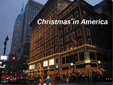 Christmas in America