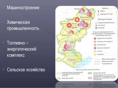 Машиностроение Химическая промышленность Топливно – энергетический комплекс С...