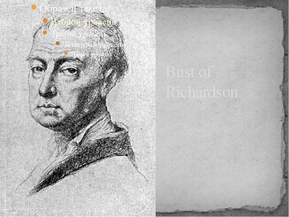 Bust of Richardson