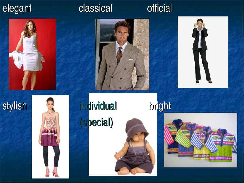elegant classical official stylish individual bright (special)
