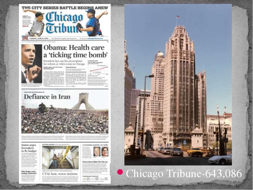 Chicago Tribune-643,086