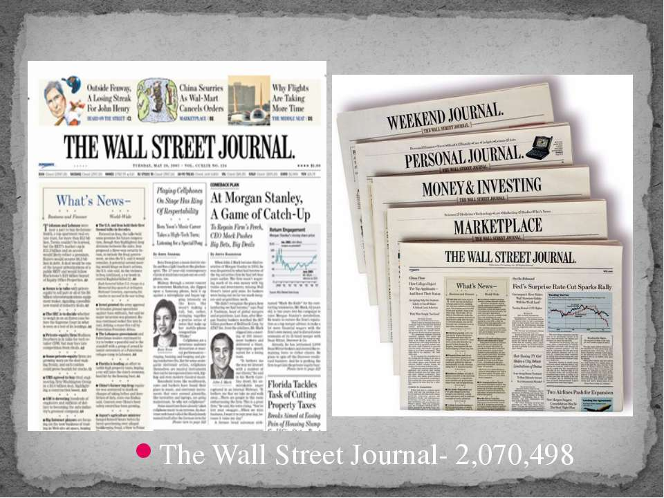 The Wall Street Journal- 2,070,498