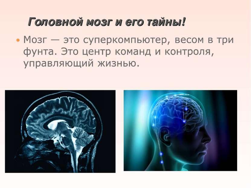 Головной мозг и его тайны!