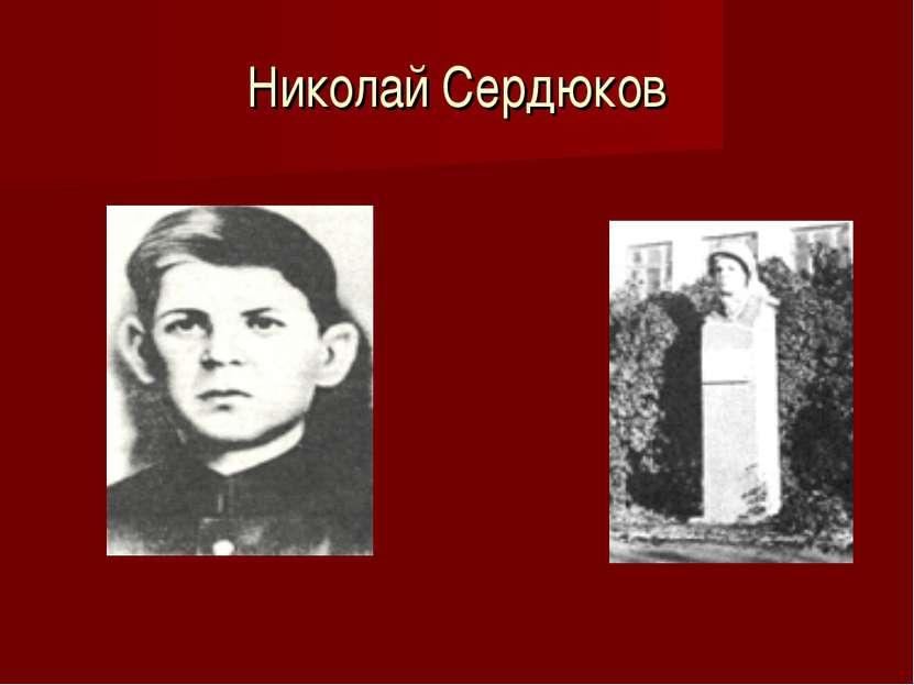 Николай Сердюков
