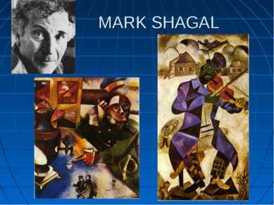 MARK SHAGAL