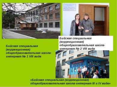 Бийская специальная (коррекционная) общеобразовательная школа-интернат № 2 VI...