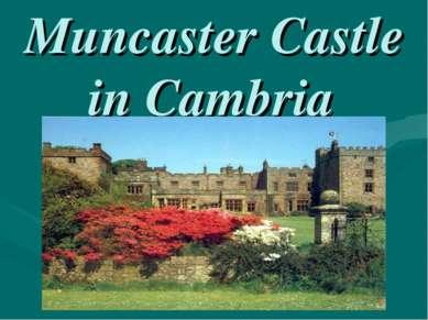 Muncaster Castle in Cambria