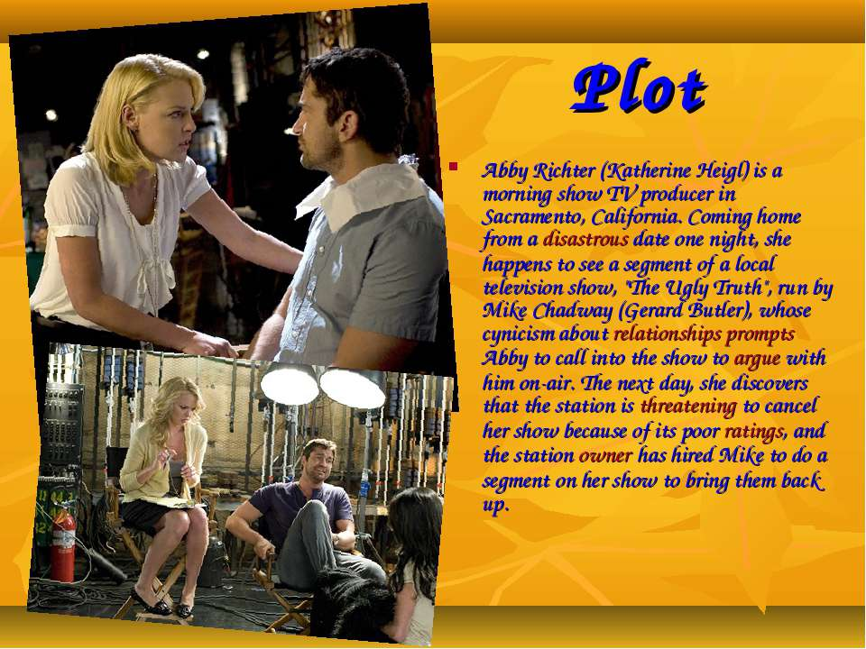 Plot Abby Richter (Katherine Heigl) is a morning show TV producer in Sacramen...