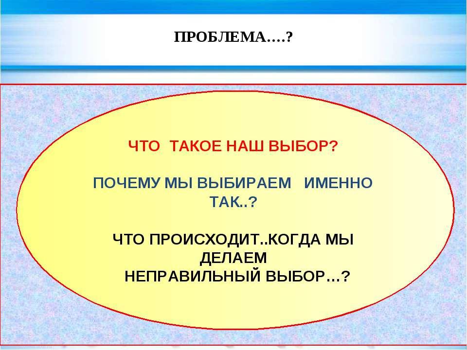 ПРОБЛЕМА….? evg3097@mail.ru ЧЕЛОВЕК КАК СУЩЕСТВО СОЦИАЛЬНОЕ И РАЗУМНОЕ СВОЕ П...