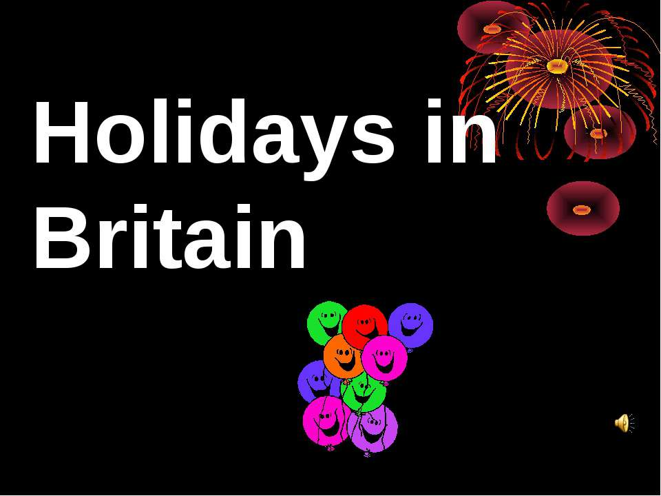 Holidays in Britain