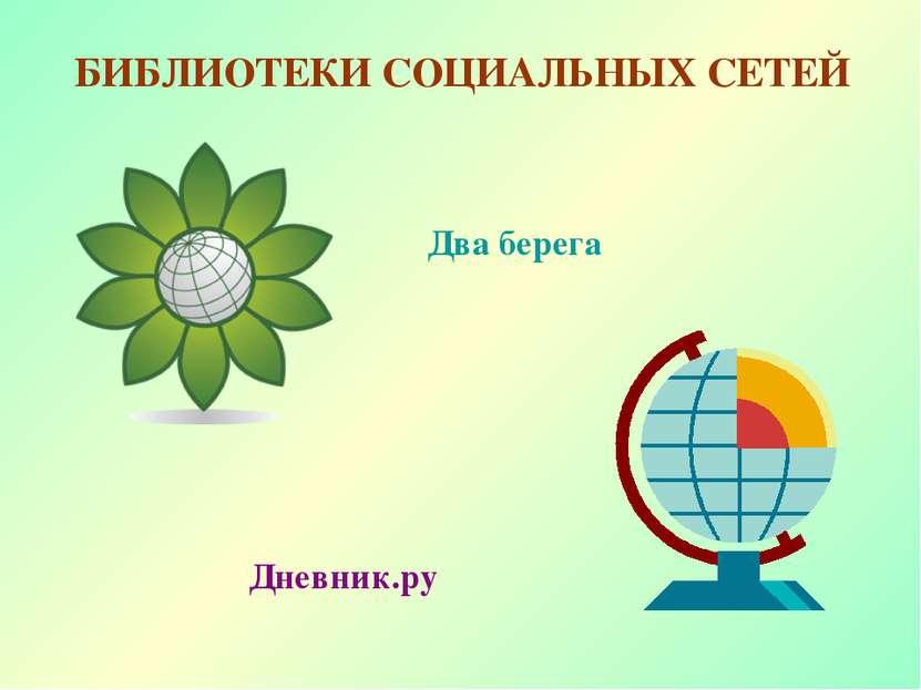 БИБЛИОТЕКИ СОЦИАЛЬНЫХ СЕТЕЙ Два берега Дневник.ру