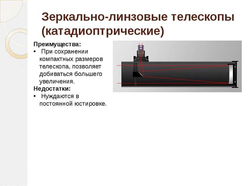 Зеркально-линзовые телескопы (катадиоптрические)