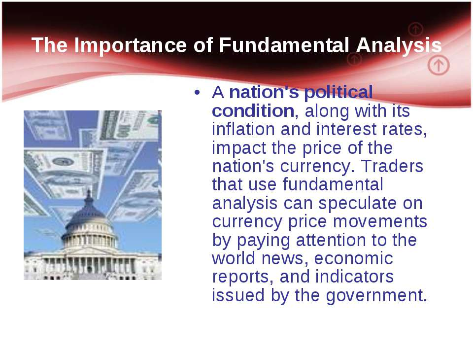 The Importance of Fundamental Analysis A nation's political condition, along ...