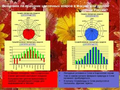 Возможен ли праздник цветочных ковров в Москве или другом городе России? В Мо...