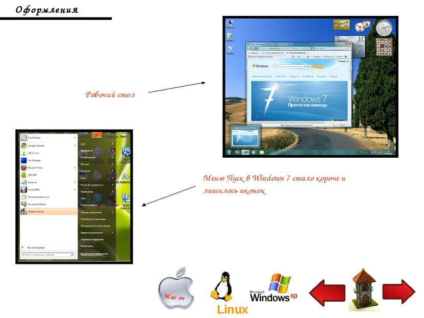 Меню Пуск в Windows 7 стало короче и лишилось иконок Оформления Рабочий стол