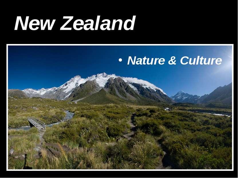 New Zealand Nature & Culture