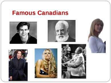 Famous Canadians