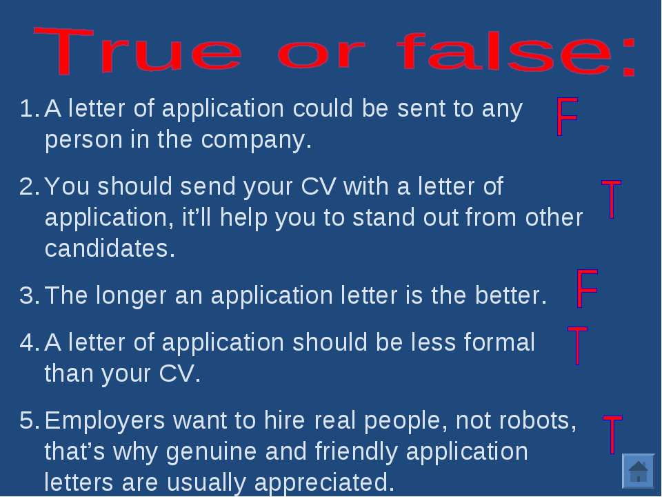 a letter of application Application letters are an essential document for applying to any institute, job, bank, visa etc addressing the concern authority the matter of this particular kind of letters must be constructed proficiently yet with a professional approach so that it becomes successful in grabbing the reader's attention.