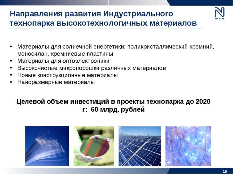 Материалы для солнечной энергетики: поликристаллический кремний, моносилан, к...