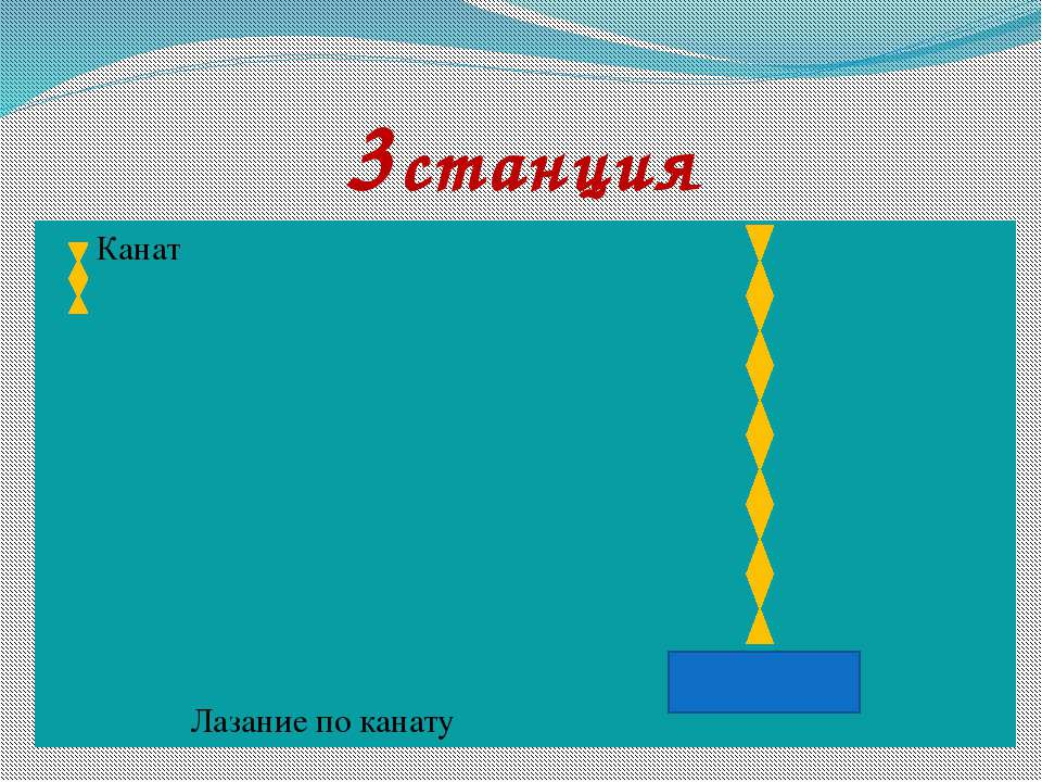 3станция Канат Лазание по канату