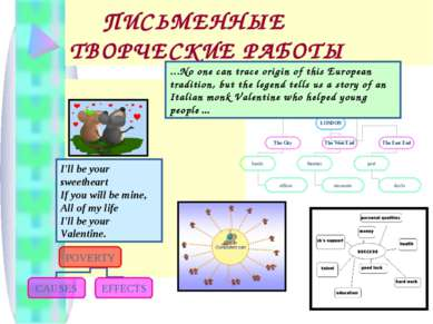 ПИСЬМЕННЫЕ ТВОРЧЕСКИЕ РАБОТЫ I'll be your sweetheart If you will be mine, All...