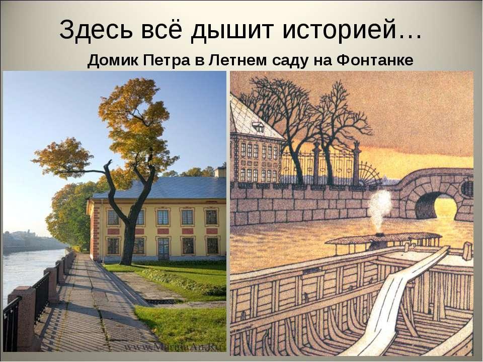 Здесь всё дышит историей… Домик Петра в Летнем саду на Фонтанке