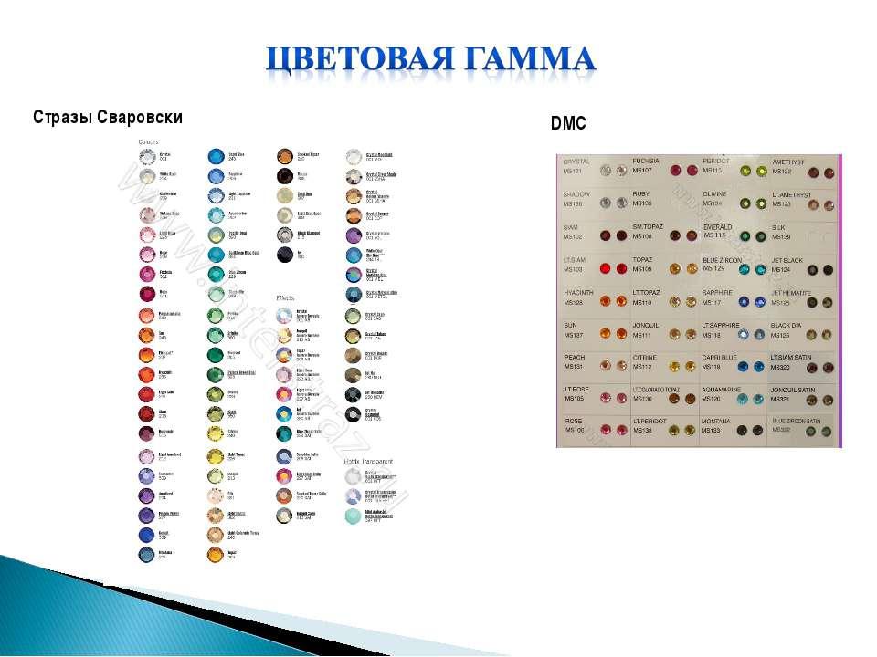 Стразы Сваровски DMC