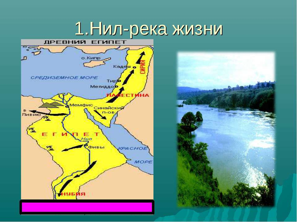 1.Нил-река жизни