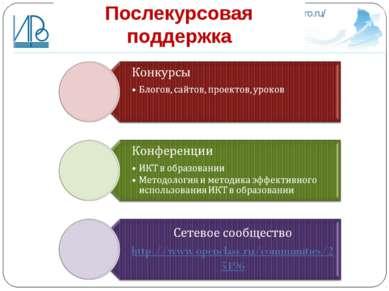 Послекурсовая поддержка http://irro.ru/
