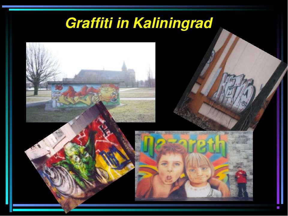 Graffiti in Kaliningrad