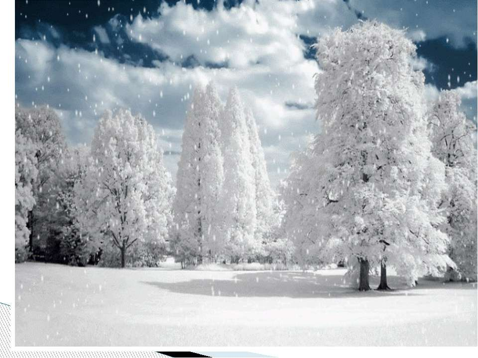 Учимся применять суффиксы ок очек еньк к очк Снег укутал деревья. Дуб в мохна...