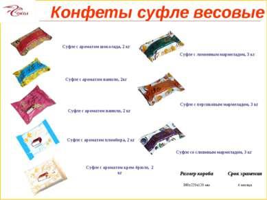 Суфле с ароматом шоколада, 2 кг Суфле с ароматом ванили, 2кг Суфле с ароматом...