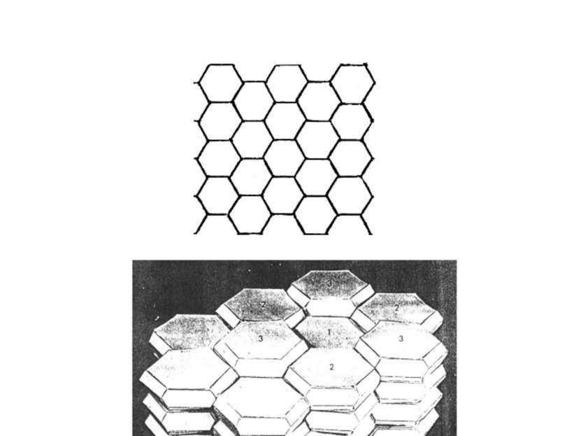 Геометрические модели укладки клеток в пластах (хроматический аспект не учиты...