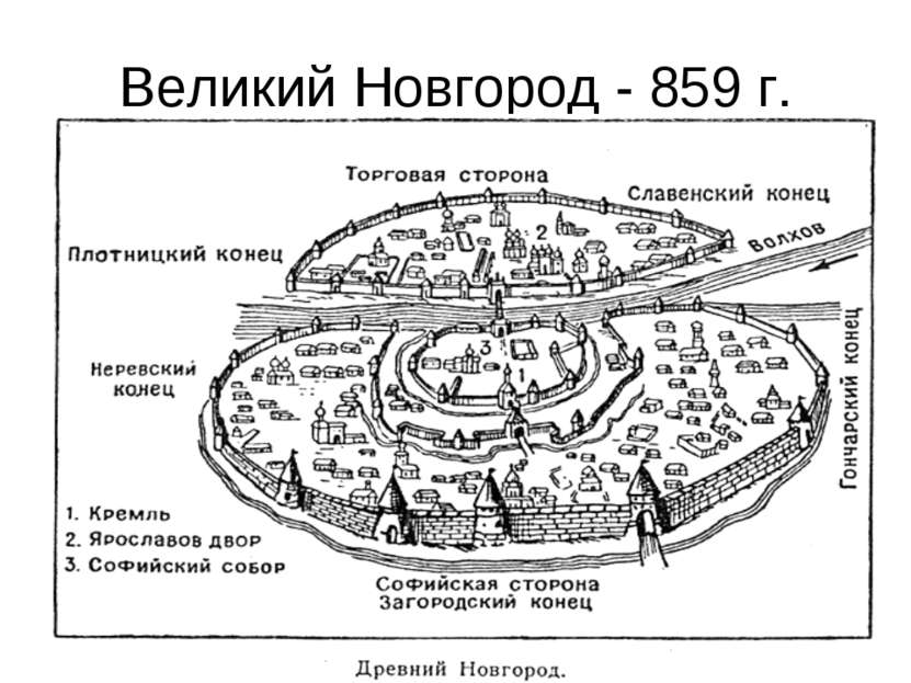 Великий Новгород - 859 г.
