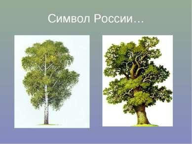 Символ России…