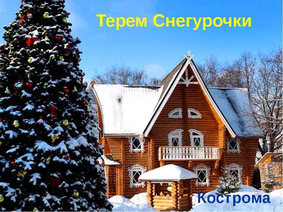 Терем Снегурочки Кострома