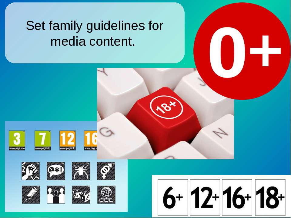 Set family guidelines for media content.