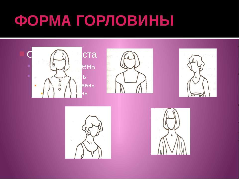 ФОРМА ГОРЛОВИНЫ